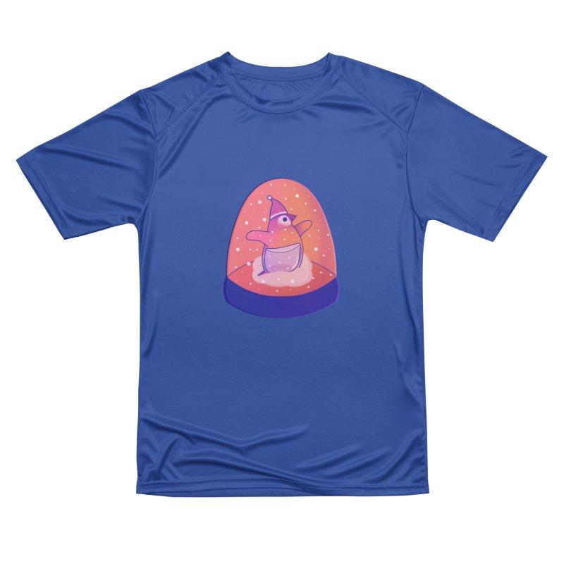 Snow Globe Women's Performance Unisex T-Shirt by theladyernestember's Artist Shop