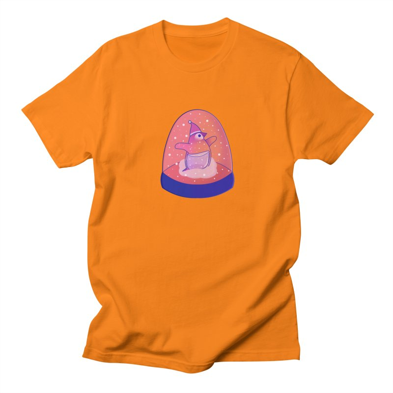 Snow Globe Women's Regular Unisex T-Shirt by theladyernestember's Artist Shop