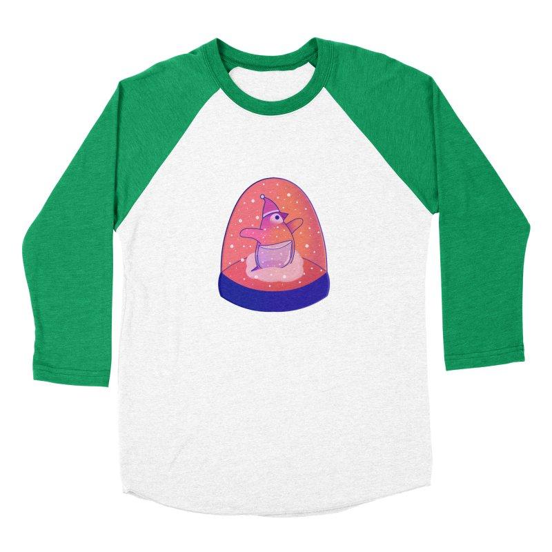 Snow Globe Women's Baseball Triblend Longsleeve T-Shirt by theladyernestember's Artist Shop