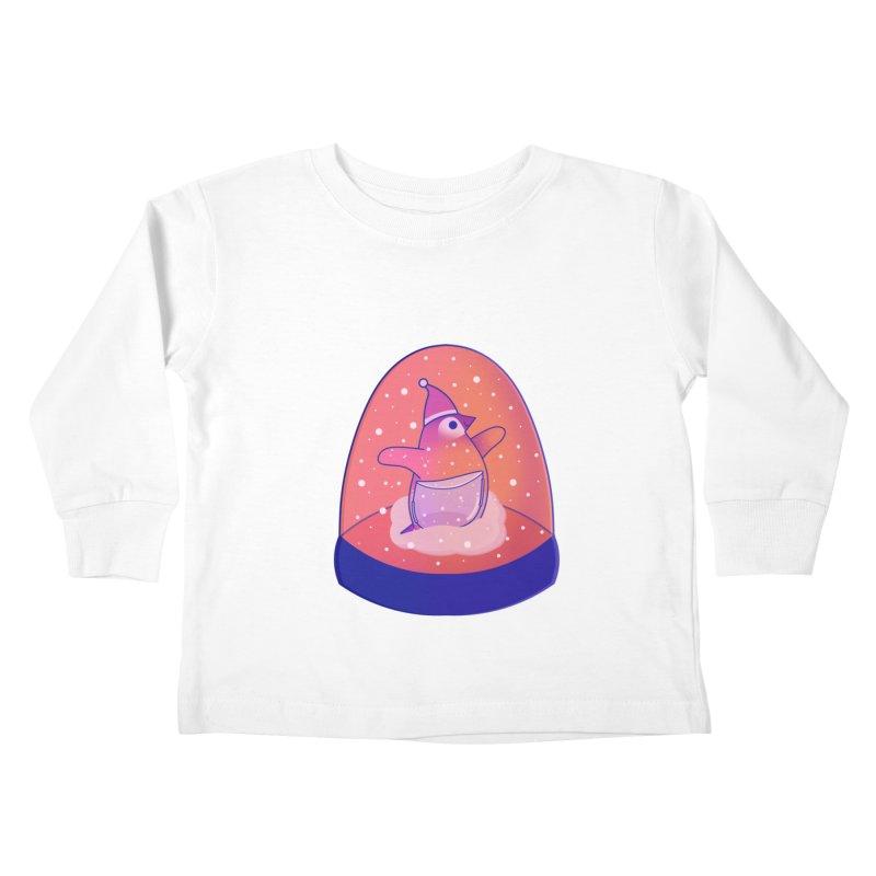Snow Globe Kids Toddler Longsleeve T-Shirt by theladyernestember's Artist Shop