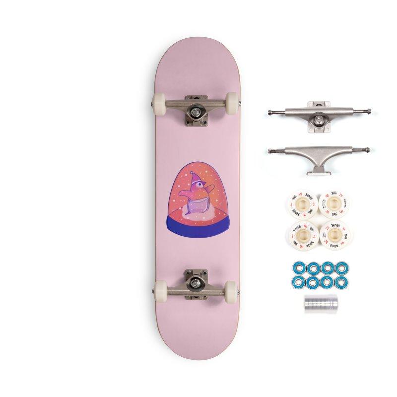 Snow Globe Accessories Complete - Premium Skateboard by theladyernestember's Artist Shop