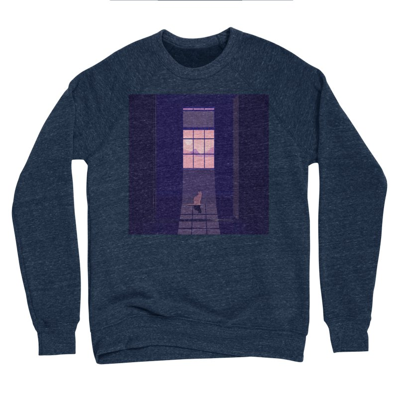 Cat Women's Sponge Fleece Sweatshirt by theladyernestember's Artist Shop