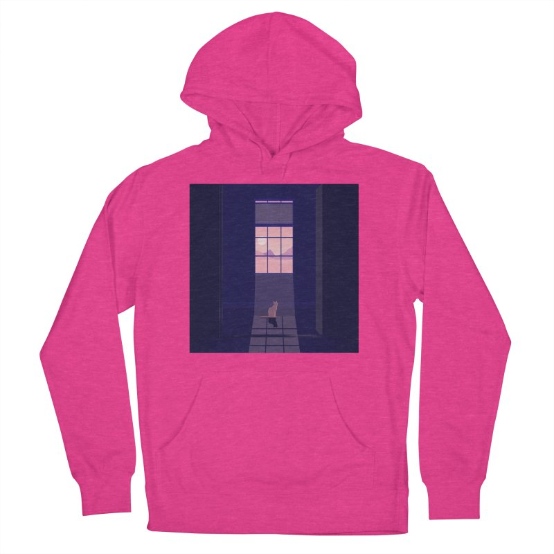 Cat Women's French Terry Pullover Hoody by theladyernestember's Artist Shop