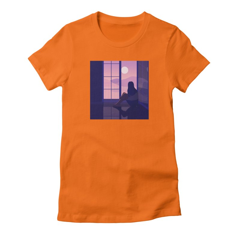 Lady Women's Fitted T-Shirt by theladyernestember's Artist Shop