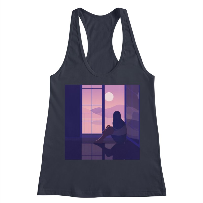 Lady Women's Racerback Tank by theladyernestember's Artist Shop