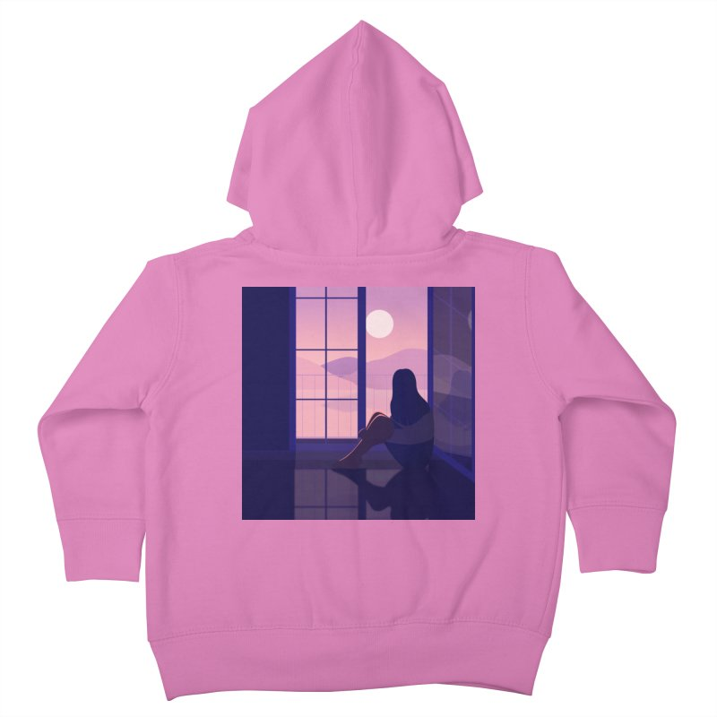 Lady Kids Toddler Zip-Up Hoody by theladyernestember's Artist Shop