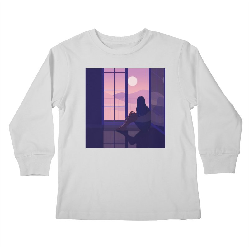 Lady Kids Longsleeve T-Shirt by theladyernestember's Artist Shop