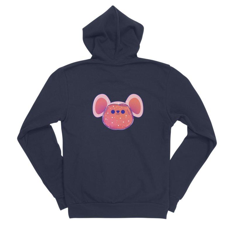 Rat Women's Sponge Fleece Zip-Up Hoody by theladyernestember's Artist Shop