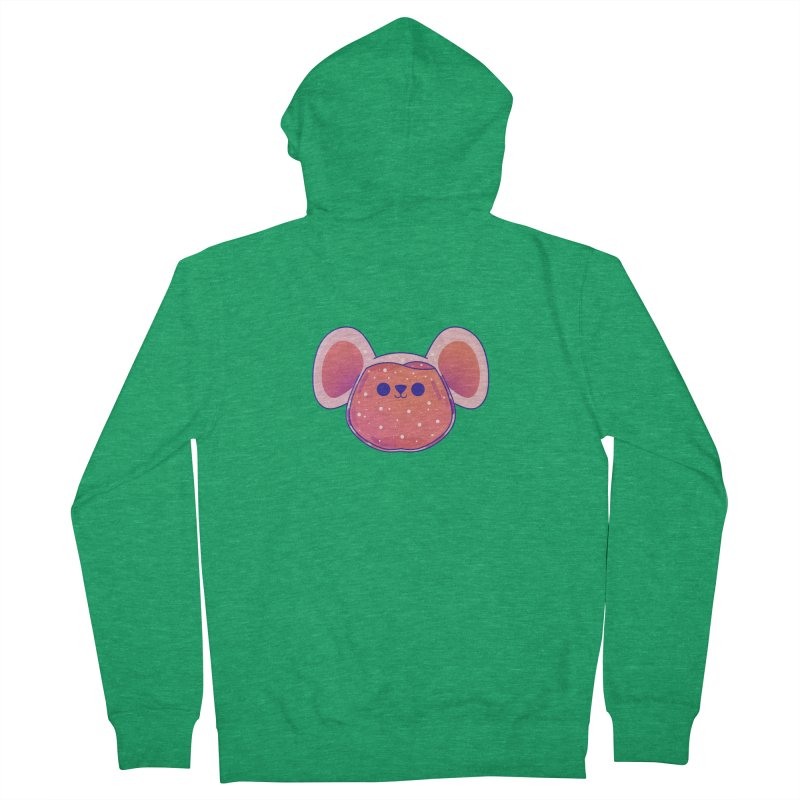 Rat Women's French Terry Zip-Up Hoody by theladyernestember's Artist Shop