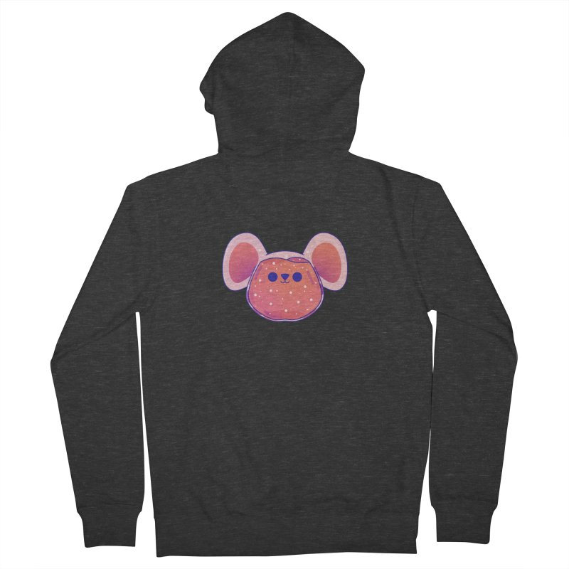 Rat Men's French Terry Zip-Up Hoody by theladyernestember's Artist Shop
