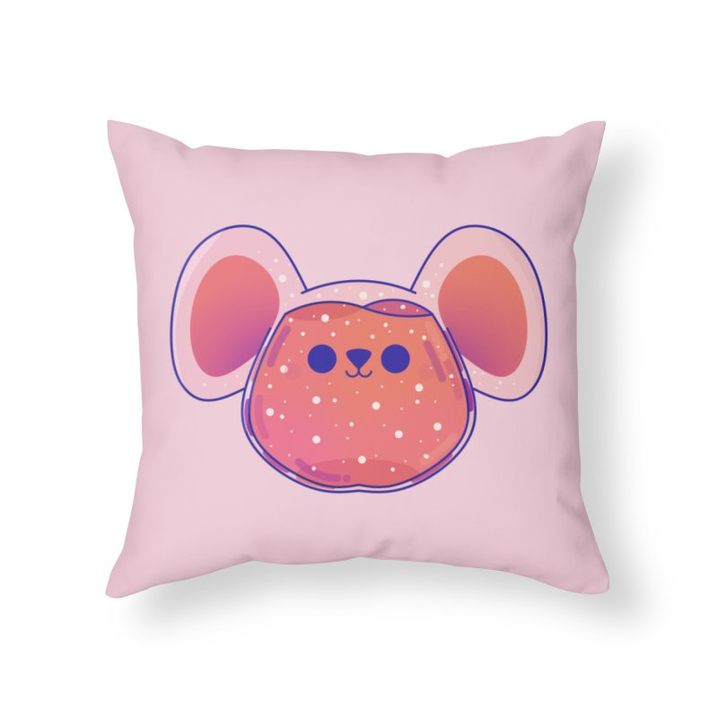 Rat Home Throw Pillow by theladyernestember's Artist Shop