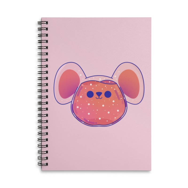Rat Accessories Lined Spiral Notebook by theladyernestember's Artist Shop