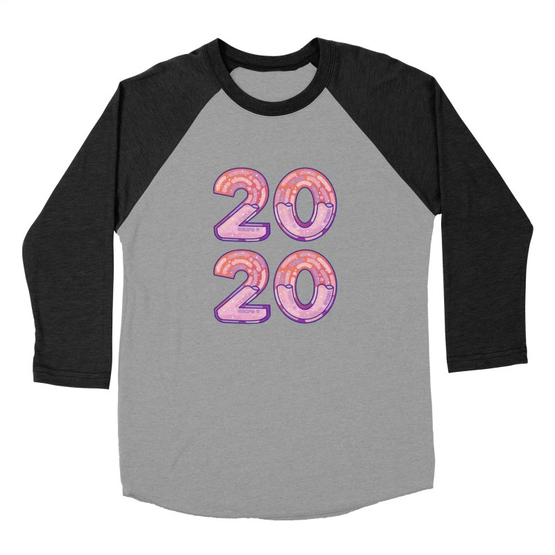 2020 Men's Baseball Triblend Longsleeve T-Shirt by theladyernestember's Artist Shop