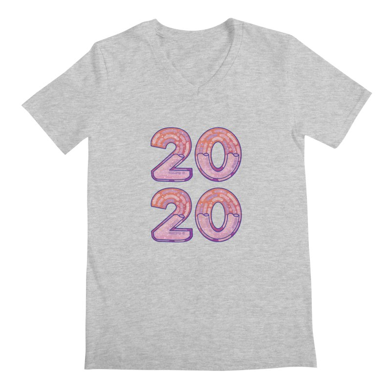 2020 Men's Regular V-Neck by theladyernestember's Artist Shop