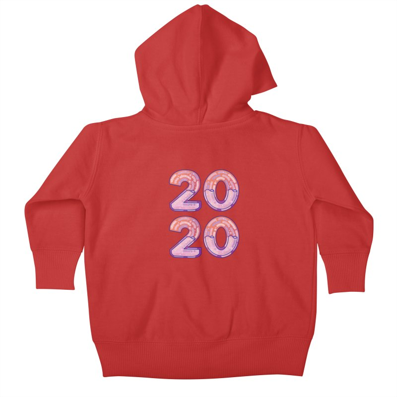 2020 Kids Baby Zip-Up Hoody by theladyernestember's Artist Shop