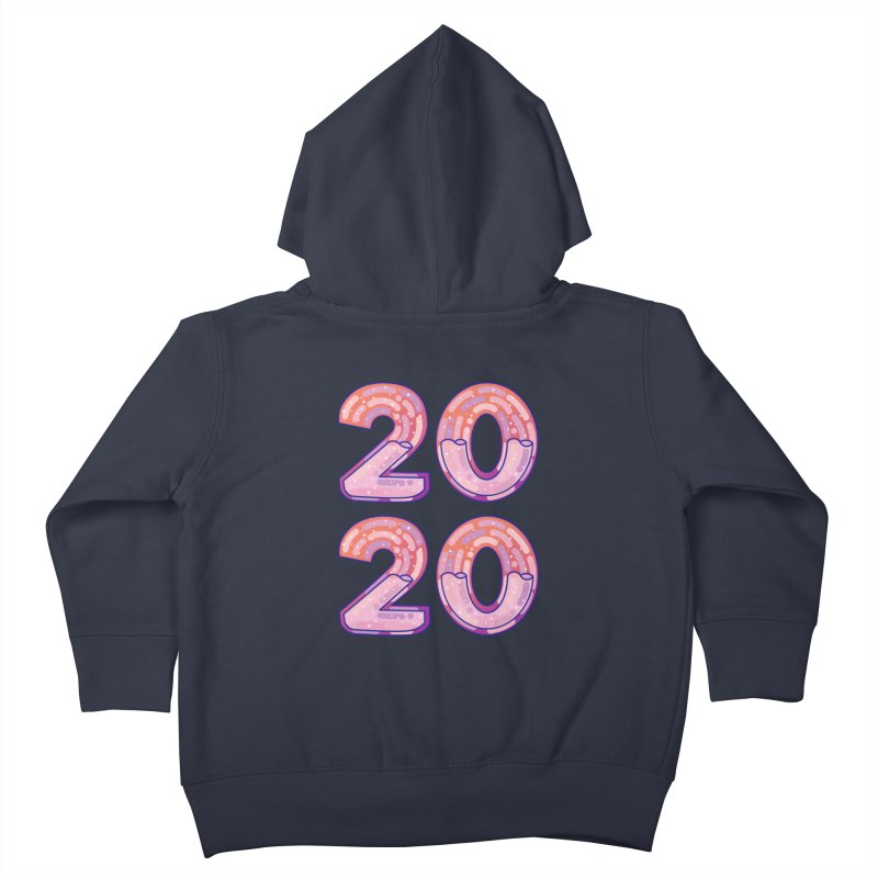 2020 Kids Toddler Zip-Up Hoody by theladyernestember's Artist Shop