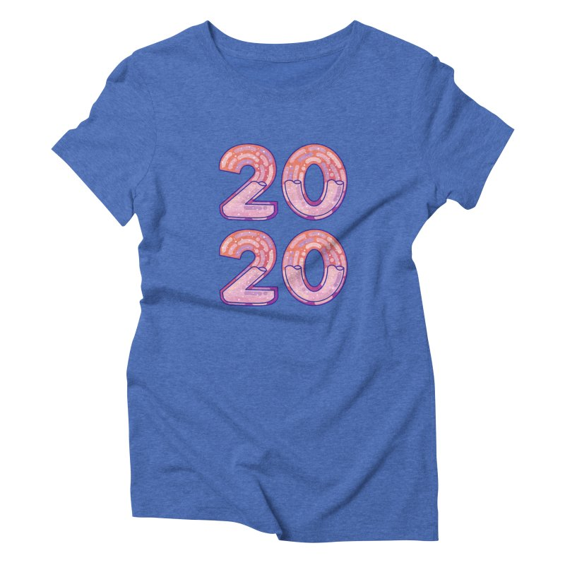 2020 Women's Triblend T-Shirt by theladyernestember's Artist Shop