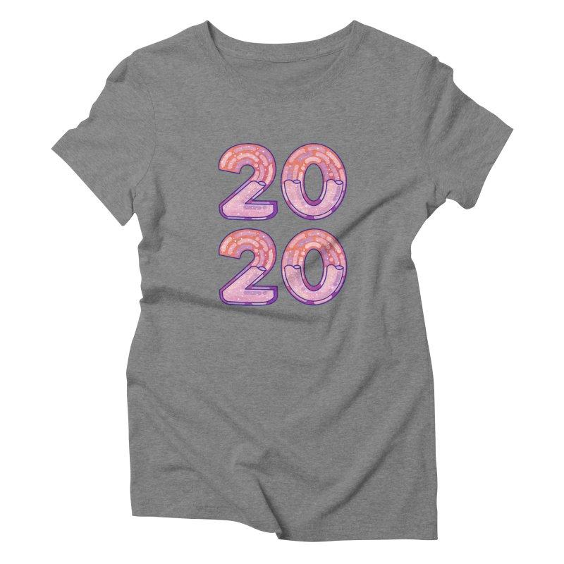 2020 Women's Triblend T-Shirt by theladyernestember's Artist Shop