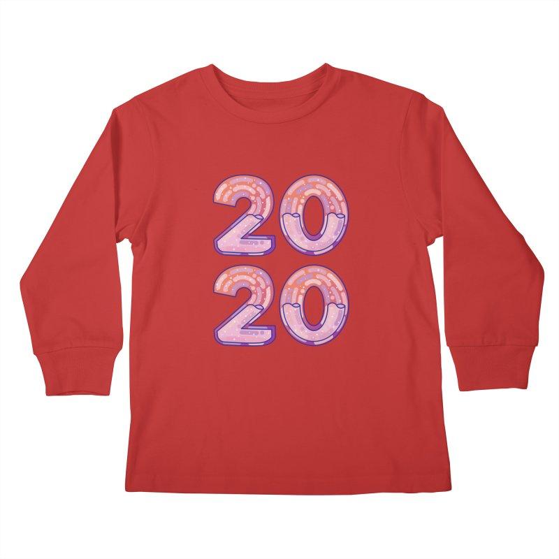 2020 Kids Longsleeve T-Shirt by theladyernestember's Artist Shop