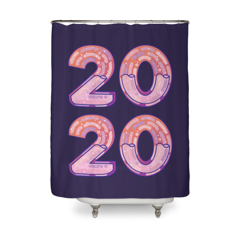 2020 Home Shower Curtain by theladyernestember's Artist Shop