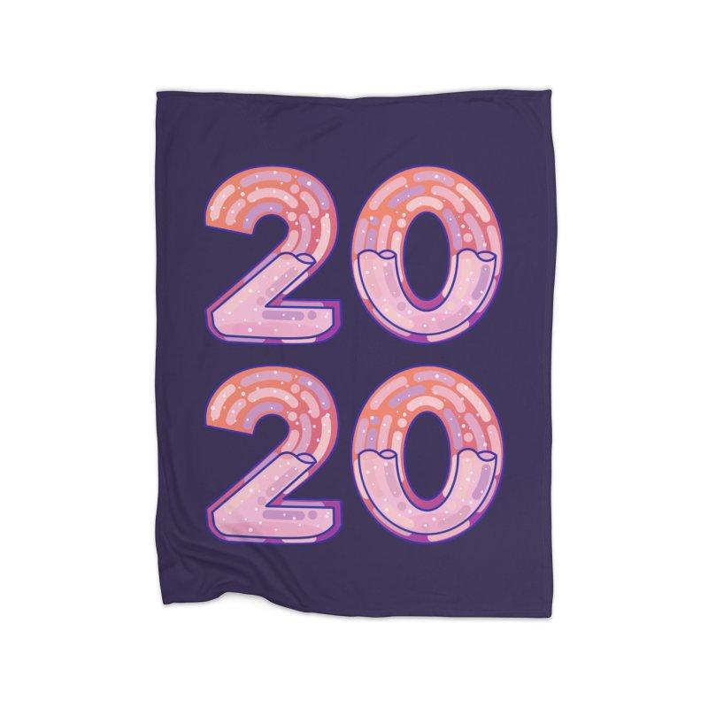 2020 Home Fleece Blanket Blanket by theladyernestember's Artist Shop