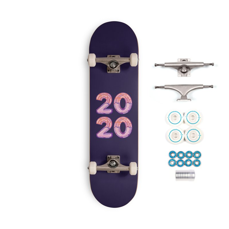 2020 Accessories Complete - Basic Skateboard by theladyernestember's Artist Shop