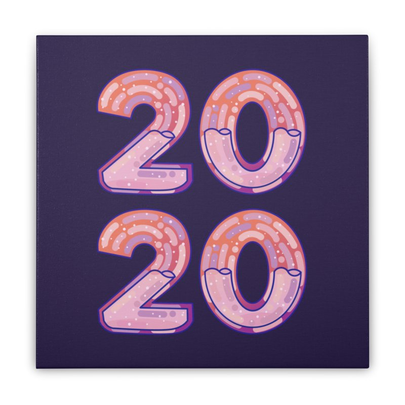 2020 Home Stretched Canvas by theladyernestember's Artist Shop