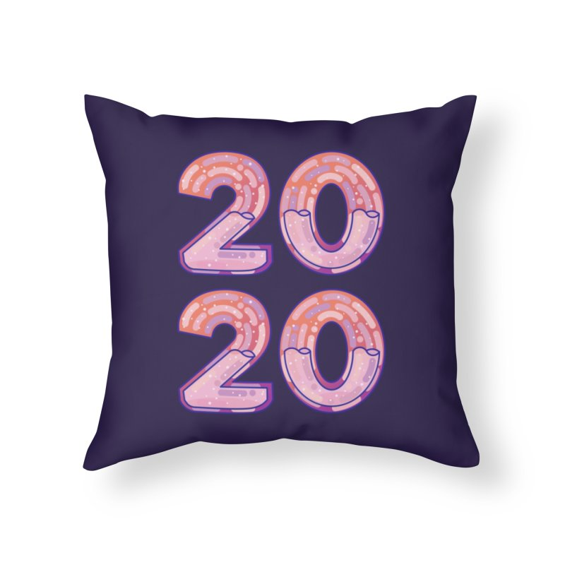 2020 Home Throw Pillow by theladyernestember's Artist Shop