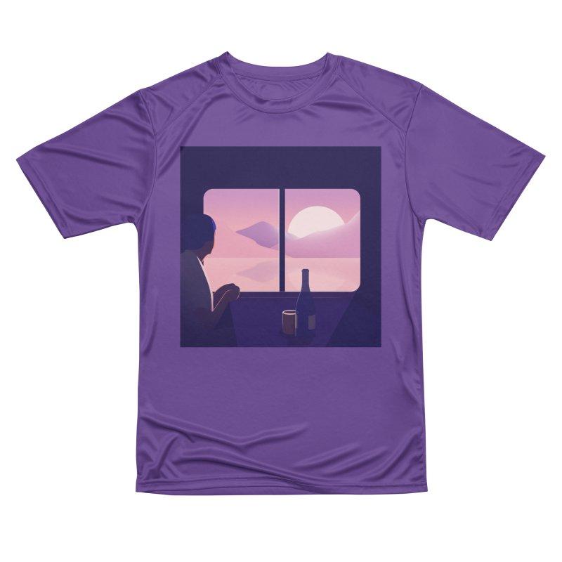 Train Men's Performance T-Shirt by theladyernestember's Artist Shop