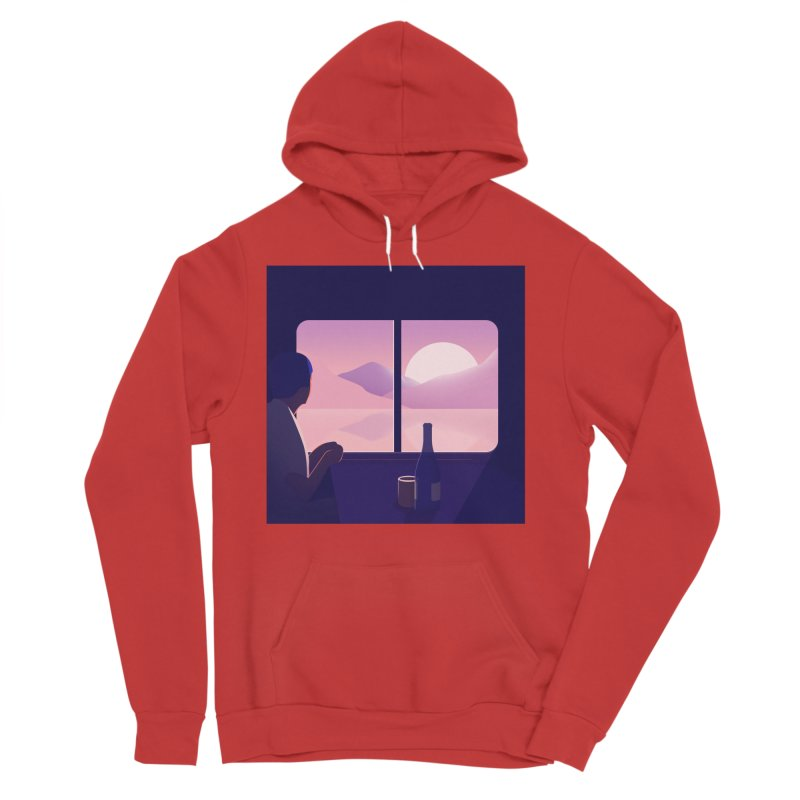 Train Men's Pullover Hoody by theladyernestember's Artist Shop