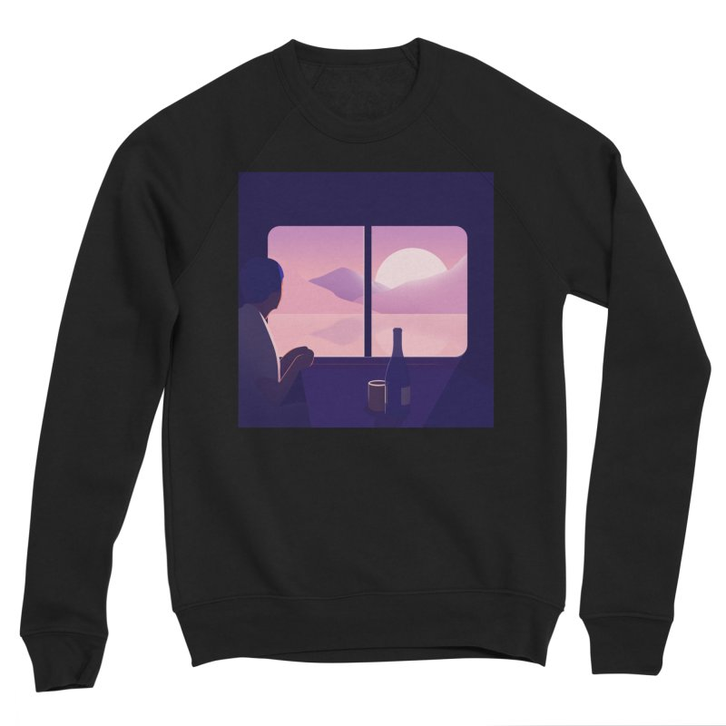 Train Men's Sponge Fleece Sweatshirt by theladyernestember's Artist Shop