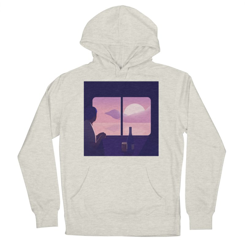 Train Men's French Terry Pullover Hoody by theladyernestember's Artist Shop