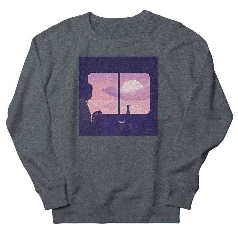 Train Women's French Terry Sweatshirt by theladyernestember's Artist Shop