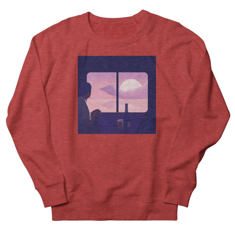 Train Women's French Terry Sweatshirt by theladyernestember's Artist Shop