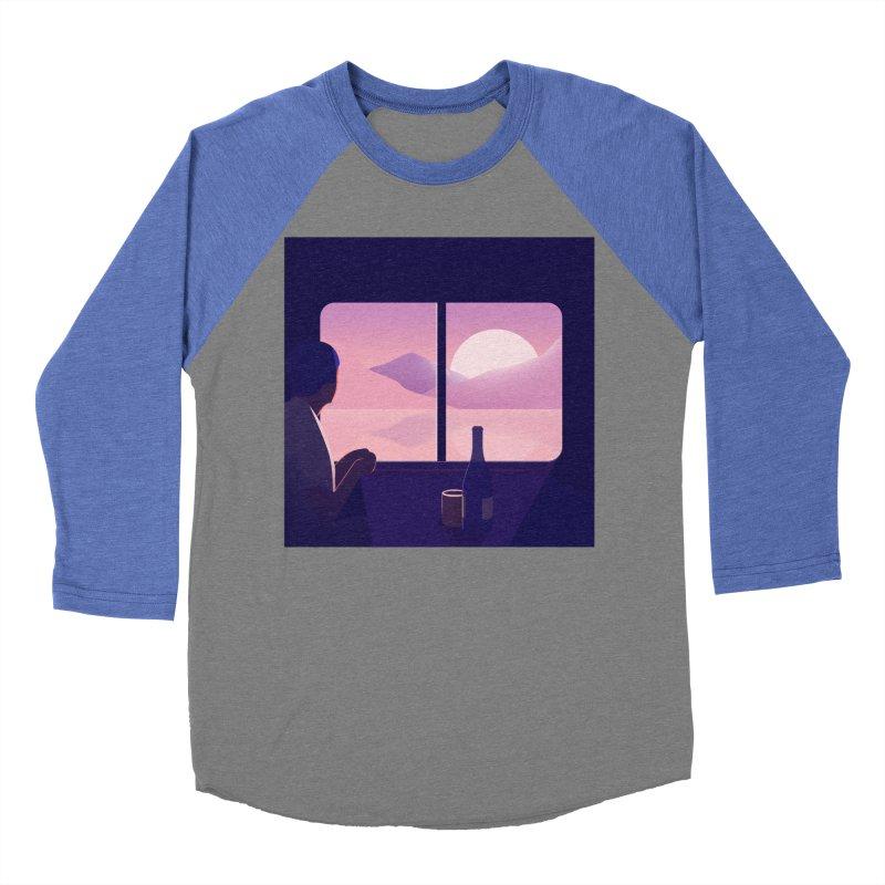 Train Women's Baseball Triblend Longsleeve T-Shirt by theladyernestember's Artist Shop