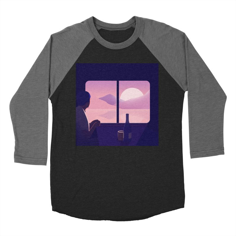 Train Men's Baseball Triblend Longsleeve T-Shirt by theladyernestember's Artist Shop