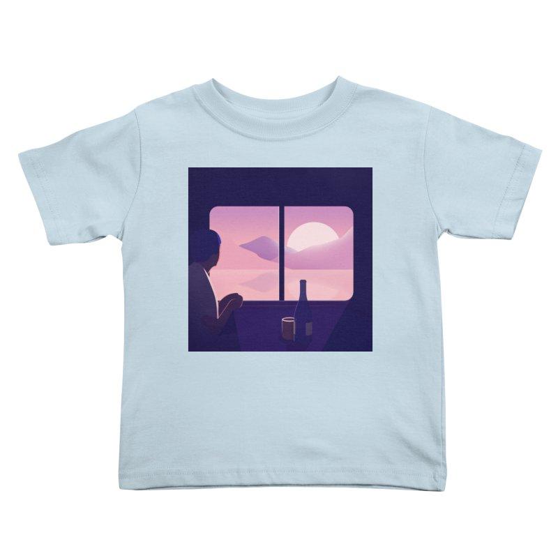 Train Kids Toddler T-Shirt by theladyernestember's Artist Shop