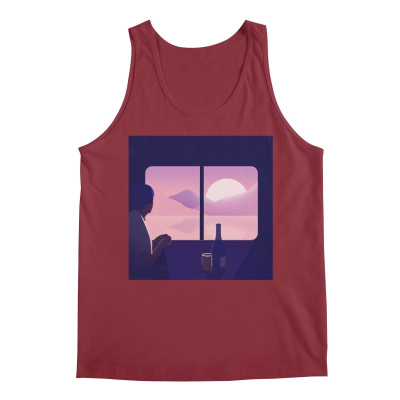 Train Men's Tank by theladyernestember's Artist Shop