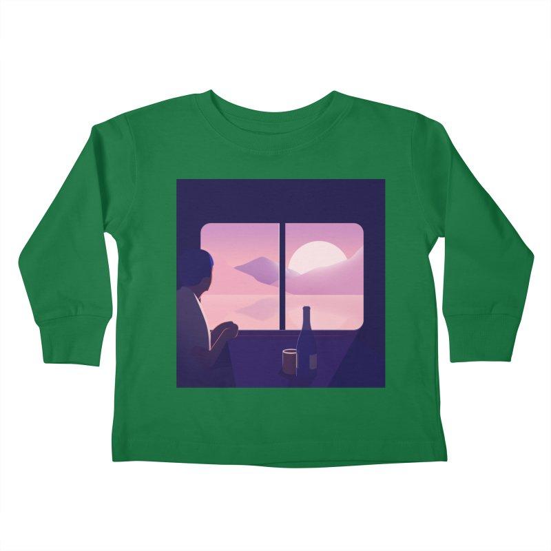 Train Kids Toddler Longsleeve T-Shirt by theladyernestember's Artist Shop