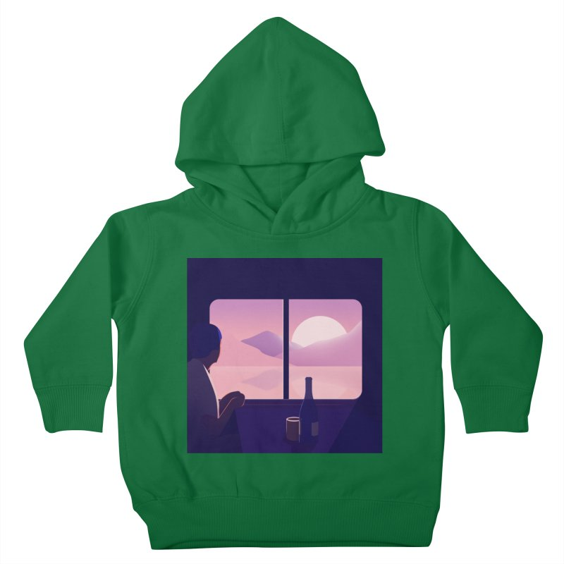 Train Kids Toddler Pullover Hoody by theladyernestember's Artist Shop