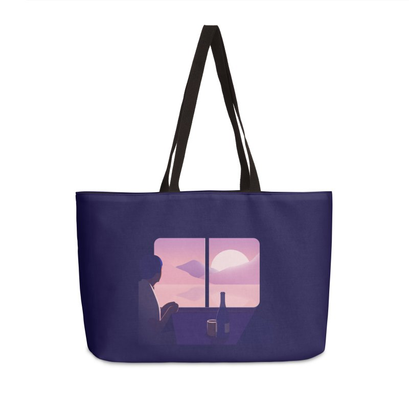 Train Accessories Weekender Bag Bag by theladyernestember's Artist Shop