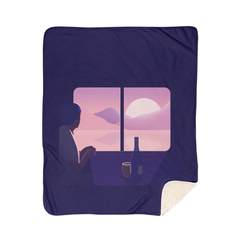 Train Home Blanket by theladyernestember's Artist Shop