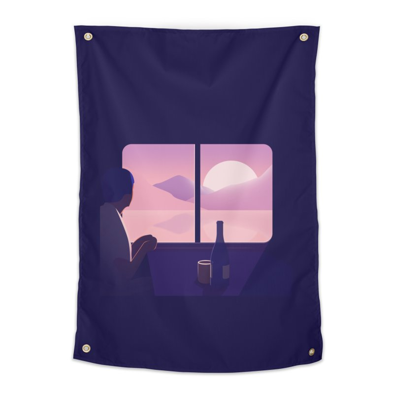 Train Home Tapestry by theladyernestember's Artist Shop