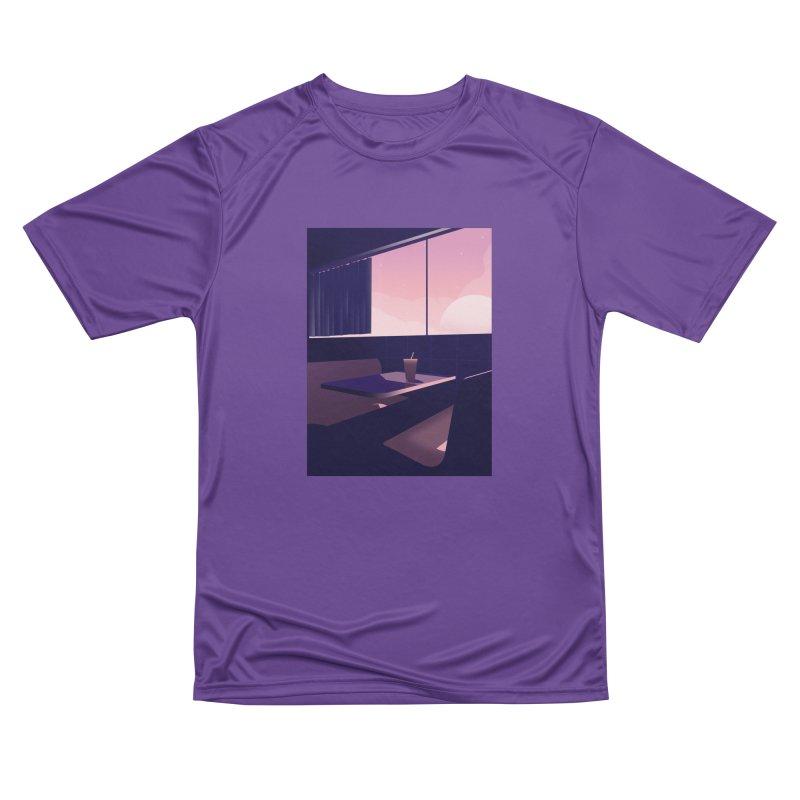 Empty Cafe Women's Performance Unisex T-Shirt by theladyernestember's Artist Shop