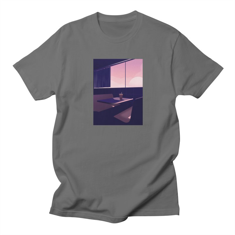 Empty Cafe Men's T-Shirt by theladyernestember's Artist Shop