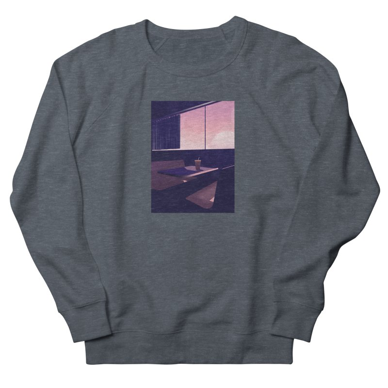 Empty Cafe Men's French Terry Sweatshirt by theladyernestember's Artist Shop