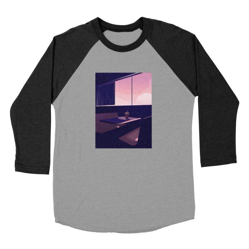 Empty Cafe Women's Baseball Triblend Longsleeve T-Shirt by theladyernestember's Artist Shop
