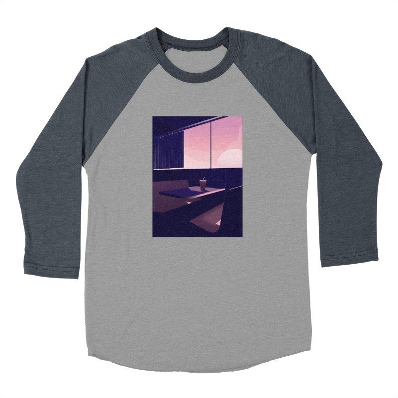 Empty Cafe Men's Baseball Triblend Longsleeve T-Shirt by theladyernestember's Artist Shop