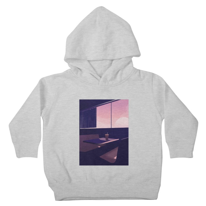 Empty Cafe Kids Toddler Pullover Hoody by theladyernestember's Artist Shop