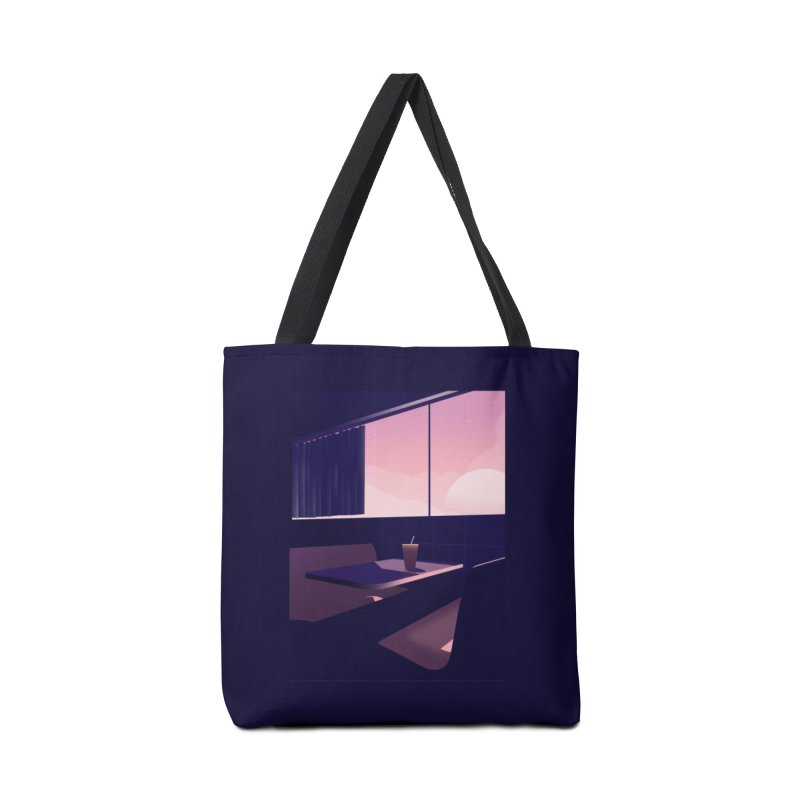 Empty Cafe Accessories Tote Bag Bag by theladyernestember's Artist Shop